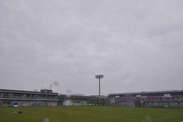 今日のスタジアム(2021年3月28日)〜霧雨に咲くなでしこたち。セレッソ大阪堺レディースの開幕戦〜